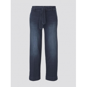 000000 706287 [denim culott] 10136 dark blue