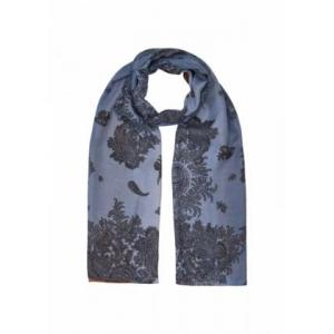 000000 SCARF 6200C DUSTY BLU