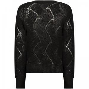 121010 11 [Jumper L-S Knitwear 009000 Black
