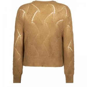 121025 6 [Cardigan Knitwear] 002800 Camel
