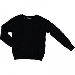 000000 29 [D-Pullover lang Arm 000999 black